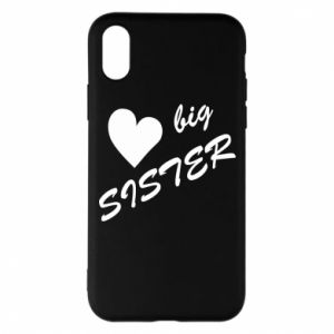 Etui na iPhone X/Xs Little sister