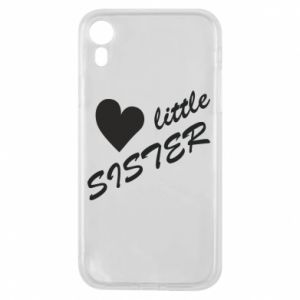 Etui na iPhone XR Little sister