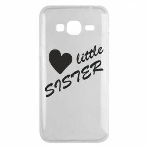 Phone case for Samsung J3 2016 Little sister