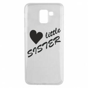 Phone case for Samsung J6 Little sister