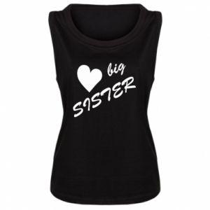 Damska koszulka Little sister - PrintSalon