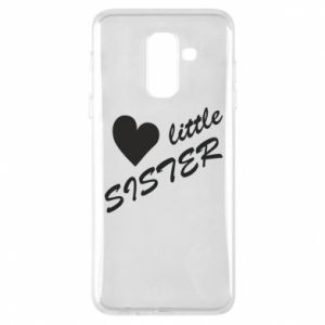 Phone case for Samsung A6+ 2018 Little sister