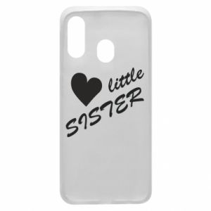 Phone case for Samsung A40 Little sister