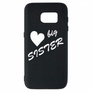 Phone case for Samsung S7 Little sister