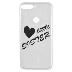 Phone case for Huawei Y7 Prime 2018 Little sister