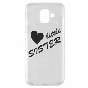 Phone case for Samsung A6 2018 Little sister
