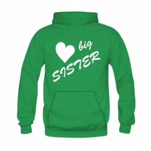 Bluza z kapturem dziecięca Little sister