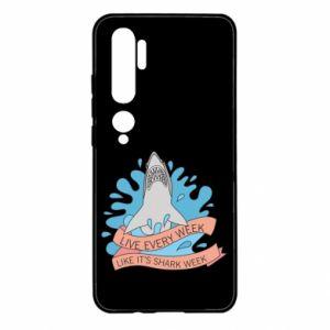 Etui na Xiaomi Mi Note 10 Live every week like it's shark week