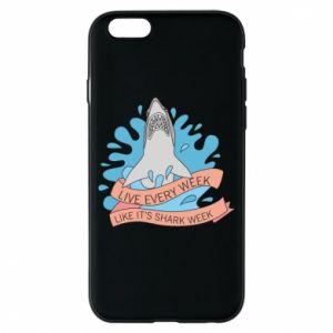 Etui na iPhone 6/6S Live every week like it's shark week