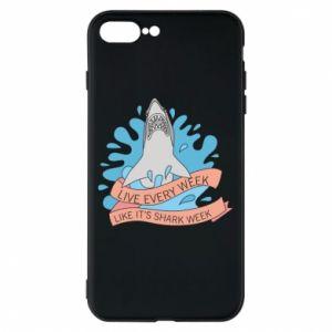 Etui na iPhone 8 Plus Live every week like it's shark week