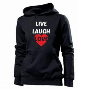 Damska bluza Live laugh love