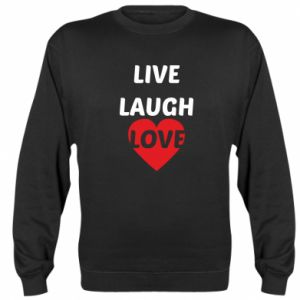 Bluza (raglan) Live laugh love
