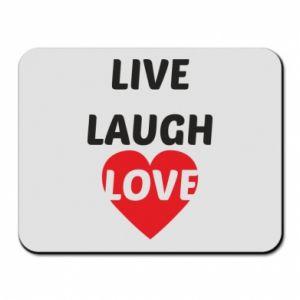 Podkładka pod mysz Live laugh love