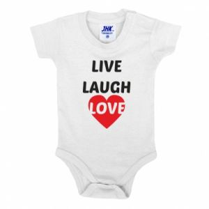 Body dla dzieci Live laugh love