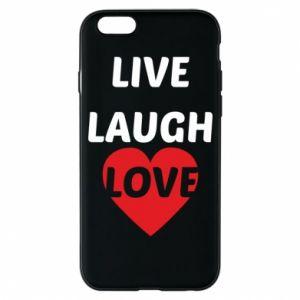Etui na iPhone 6/6S Live laugh love