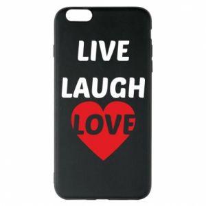 Etui na iPhone 6 Plus/6S Plus Live laugh love