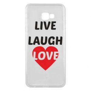 Etui na Samsung J4 Plus 2018 Live laugh love