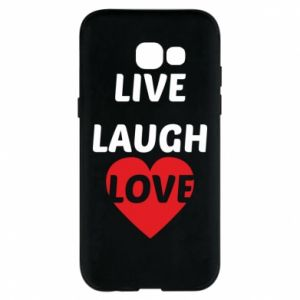 Etui na Samsung A5 2017 Live laugh love