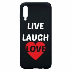 Etui na Samsung A70 Live laugh love