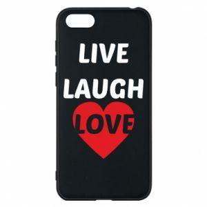 Etui na Huawei Y5 2018 Live laugh love