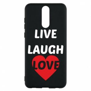 Etui na Huawei Mate 10 Lite Live laugh love
