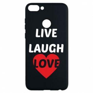 Etui na Huawei P Smart Live laugh love