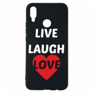 Etui na Huawei P Smart Plus Live laugh love