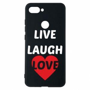 Etui na Xiaomi Mi8 Lite Live laugh love