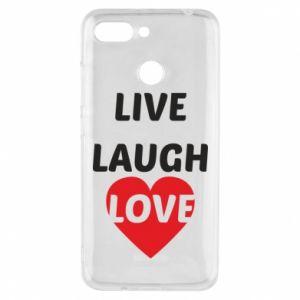 Etui na Xiaomi Redmi 6 Live laugh love