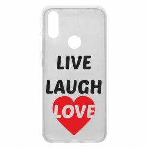Etui na Xiaomi Redmi 7 Live laugh love