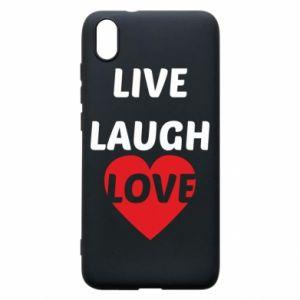 Etui na Xiaomi Redmi 7A Live laugh love