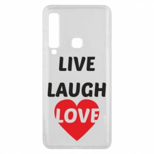 Etui na Samsung A9 2018 Live laugh love
