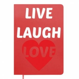 Notepad Live laugh love