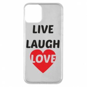 Etui na iPhone 11 Live laugh love