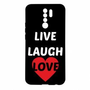 Etui na Xiaomi Redmi 9 Live laugh love
