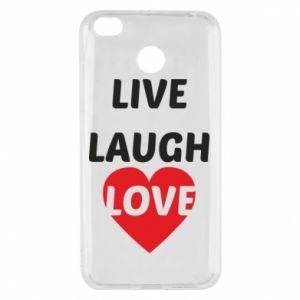 Xiaomi Redmi 4X Case Live laugh love