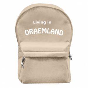 Plecak z przednią kieszenią Living in Draemland