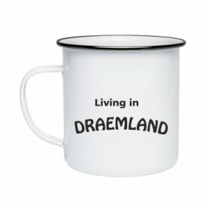 Kubek emaliowany Living in Draemland