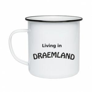Kubek emaliowane Living in Draemland