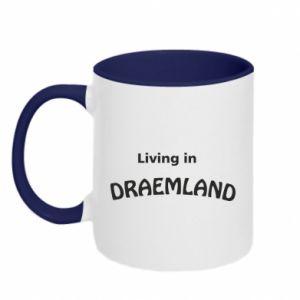 Kubek dwukolorowy Living in Draemland