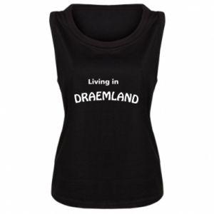 Damska koszulka bez rękawów Living in Draemland