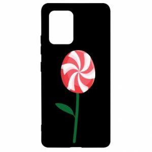 Etui na Samsung S10 Lite Lizak - kwiat