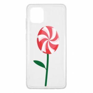 Etui na Samsung Note 10 Lite Lizak - kwiat