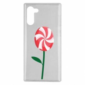 Etui na Samsung Note 10 Lizak - kwiat