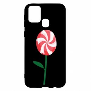 Etui na Samsung M31 Lizak - kwiat