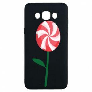 Etui na Samsung J7 2016 Lizak - kwiat