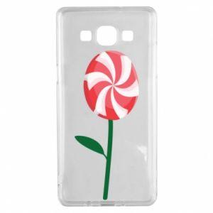 Etui na Samsung A5 2015 Lizak - kwiat