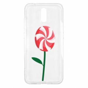 Etui na Nokia 2.3 Lizak - kwiat