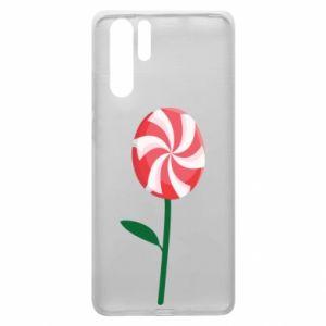Etui na Huawei P30 Pro Lizak - kwiat