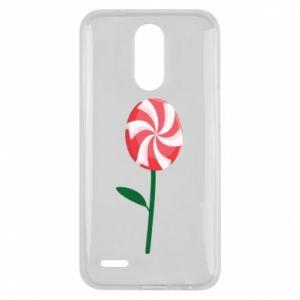 Etui na Lg K10 2017 Lizak - kwiat